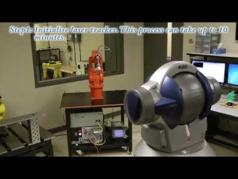 Calibration of an ABB IRB 120 industrial robot with a FARO laser tracker
