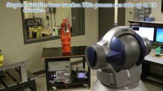 Calibration of an ABB IRB 120 | FARO laser tracker