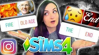 My Instagram Followers Control My Sim's ENDING   Sims 4 Challenge Finale