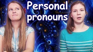#28 Russian / English personal pronouns: я - I, ты - you, он - he, она - she, оно - it, мы - we...