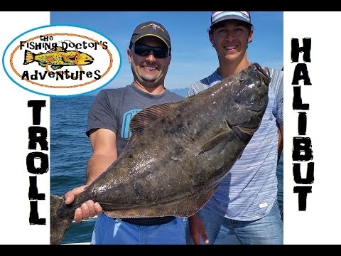 How To Trolling Hoochie Fishing for Halibut
