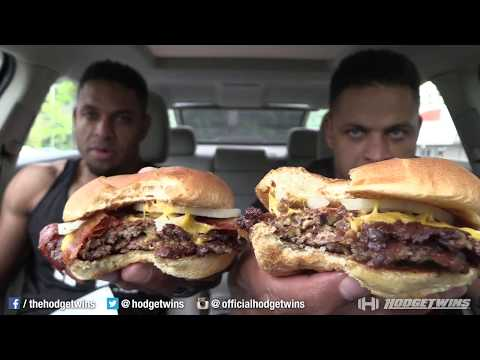 Eating at Freddy's Frozen Custard & Steakburgers @hodgetwins thumbnail