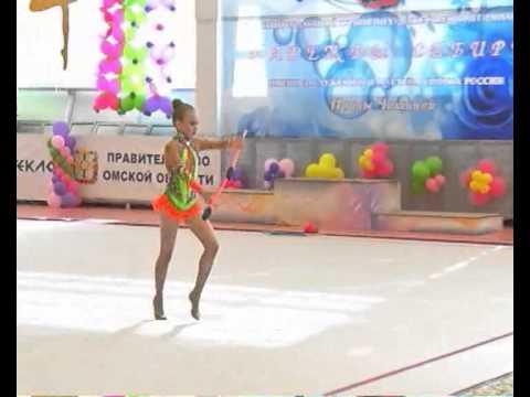 Новые «звёзды» загораются в омской художественной гимнастике