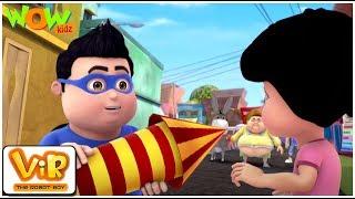 Vir The Robot Boy | Hindi Cartoon For Kids | Fursatganj ki diwali | Animated Series| Wow Kidz