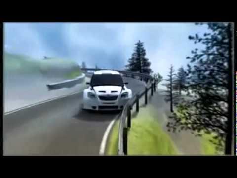 Robert Kubica crash 3D simulation  2011 Rally Ronde di Andora