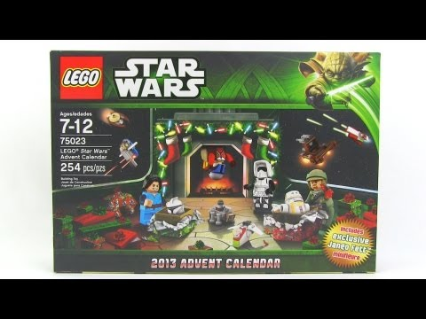 LEGO Star Wars 2013 Advent Calendar Review! set 75023