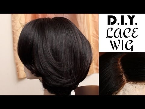 DIY: How to Make a Wig with Lace Closure