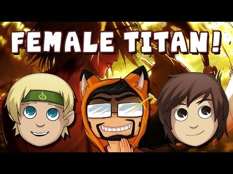 Attack On Titan Multiplayer: Female Titan Boss Battle