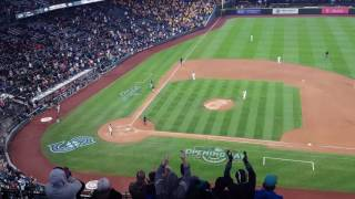 Ichiro hits a HR in likely his final ever at-bat at Safeco Field