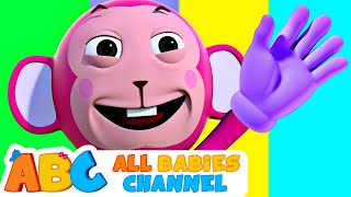 Monkey Finger Family | Nursery Rhymes For Children | Kids Songs By All Babies Channel