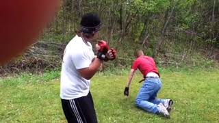 Backyard Boxing (Busted Nose)