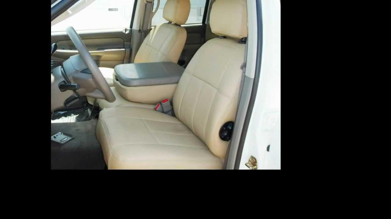 Clazzio Seat Cover Installation For Dodge Ram1500  2003