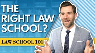 How to Choose the Right Law School For You