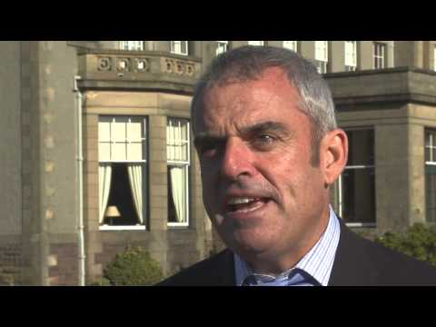 Paul McGinley at Gleneagles Hotel