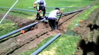 Quilmes tiene un nuevo sistema de riego por aspersión