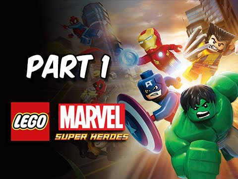 LEGO Marvel Super Heroes Gameplay Walkthrough - Part 1 Sand Central Station (Let's Play Commentary)