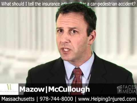 Massachusetts Auto Accident Lawyers: What to Say to Your Insurance Company