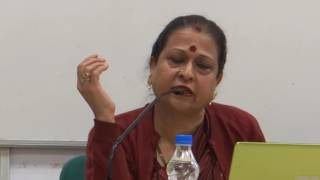 Prof. K.P. Vijayalakshmi delivers a talk on the topic The Message of U.S. Election Result