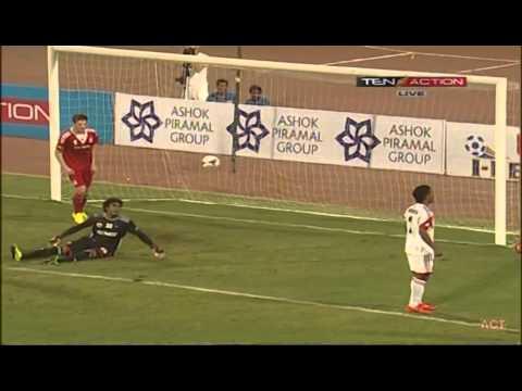 Hero I-League 2015 PUNE FC (5) vs SHILLONG LAJONG FC (2)  29 01 2015)