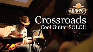 Japanese BLUES-ROCK /Crossroads cover - COOL Guitar SOLO !!