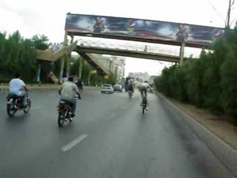 muqadar wheeler. karachi baikers.hamad wheeler.faisal wheeler shani wheeler.