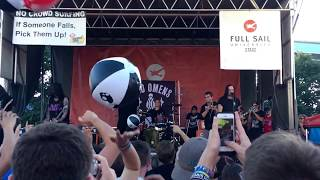 "Bad Omens - ""Reprise (The Sound Of The End)"" Live in Vans Warped Tour 2017 : Milwaukee, WI"