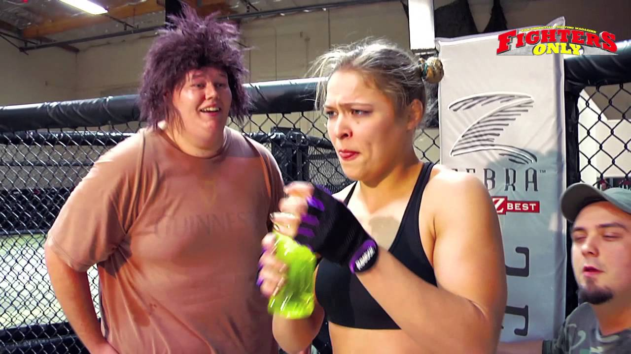 [Ronda Rousey: Back In The Day] Video
