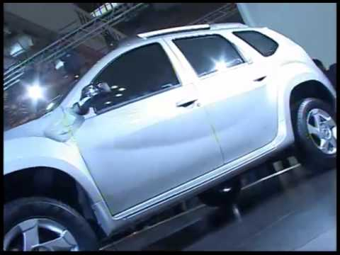 2012 Auto Expo - RENAULT'S DUSTER UNVEILED (India)