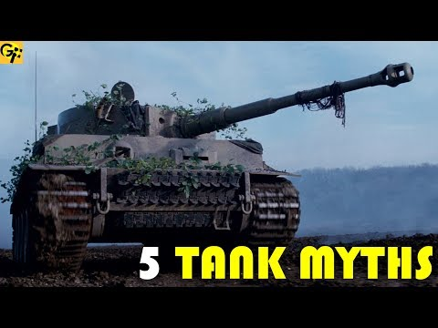 5 Myths About WWII TANKS