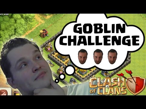 Goblin Challenge - Fred || Clash Of Clans || Let's Play Coc [deutsch german Hd] video