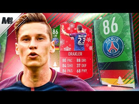 FIFA 18 FUTMAS DRAXLER REVIEW   86 FUTMAS DRAXLER PLAYER REVIEW   FIFA 18 ULTIMATE TEAM