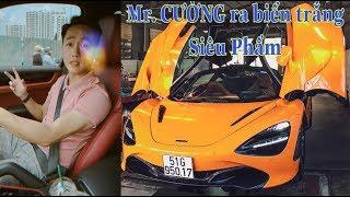 Mr. Cường tậu McLaren 720s triệu đô và ra biển trắng Siêu Nhanh
