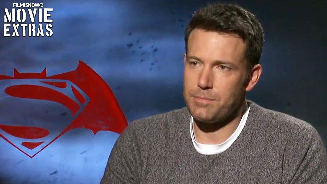 Batman v Superman Dawn of Justice | Ben Affleck Official Interview (2016)