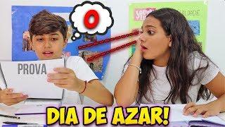 DIA DE SORTE VS DIA DE AZAR! - JULIANA BALTAR