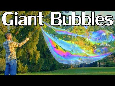 How to Make Giant Bubbles w Guar Gum