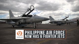 WATCH: Philippine Air Force now has 6 fighter jets