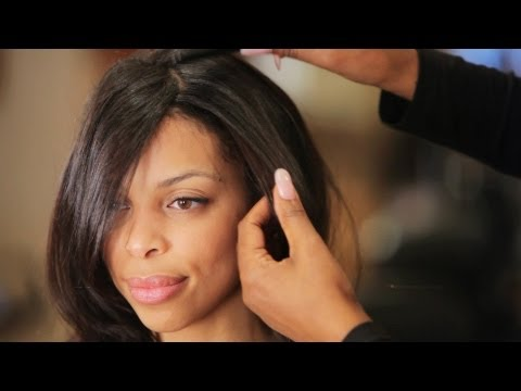 How to Attach Clip In Hair Extensions | Black Hairstyles