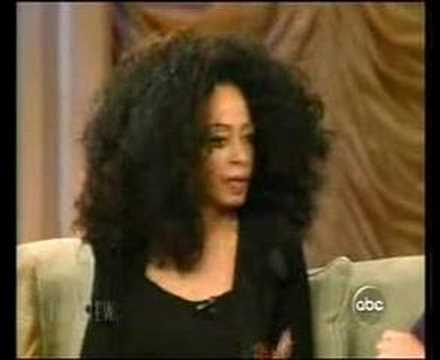 diana ross on The View
