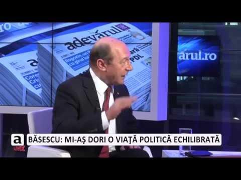 Traian Băsescu răspunde la Adevărul Live atacurilor lui Rogozin