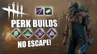 NO ESCAPE | Dead By Daylight THE TRAPPER PERK BUILDS