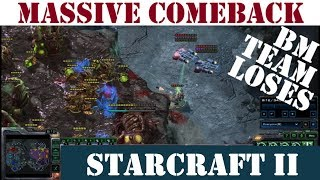 Terrans Comeback vs Bad Manners With Massive Engagements - Starcraft II (3 v 3) [34 Mins]