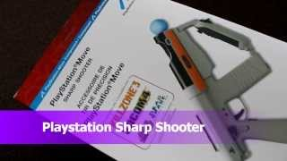 Unboxing Sony Playstation Move Sharp Shooter Controller Accessory Navigator Eye Killzone Time Crisis