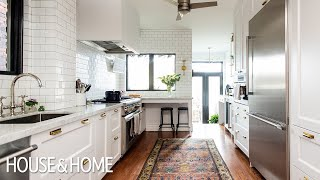 Room Tour: Beautiful Kitchen Makeover With Timeless Details