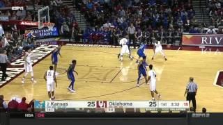 Kansas at Oklahoma | 2016-17 Big 12 Men