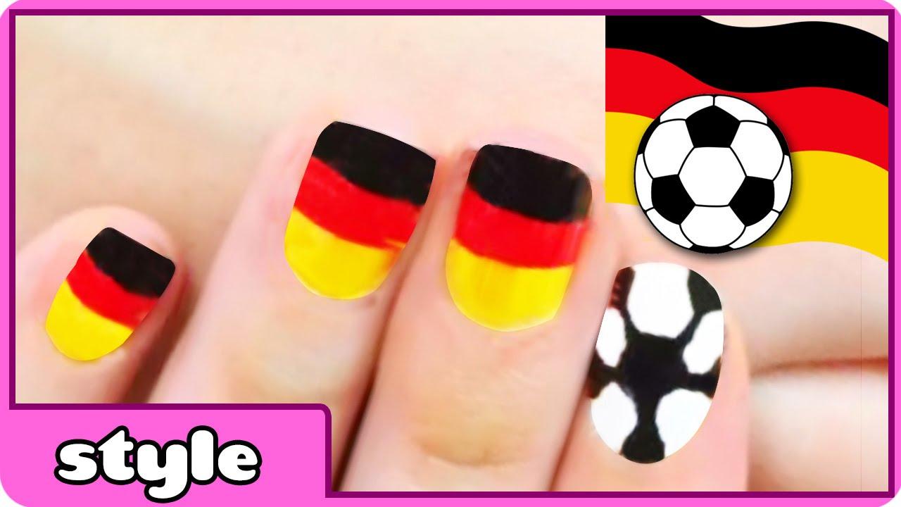 World Cup Nail Art Germany