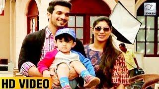 Arjun Bijlani's Cute Son Ayaan's Fun On Pardes Mein Hai Mera Dil Sets