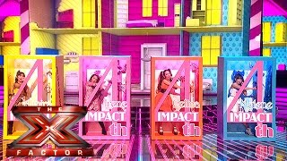 4th Impact are Fancy Rich dolls with this mash-up!  | Live Week 5 | The X Factor 2015
