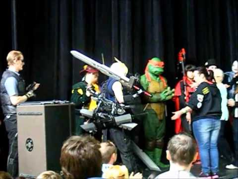 Mersey Comic Con  The Cosplay Contest Movie