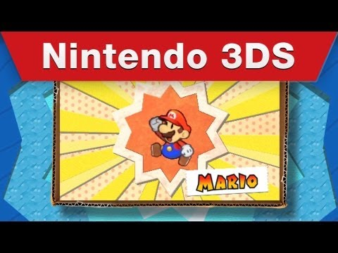 Paper Mario: Sticker Star E3 Trailer
