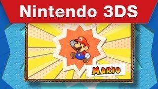 Nintendo 3DS - Paper Mario_ Sticker Star E3 Trailer